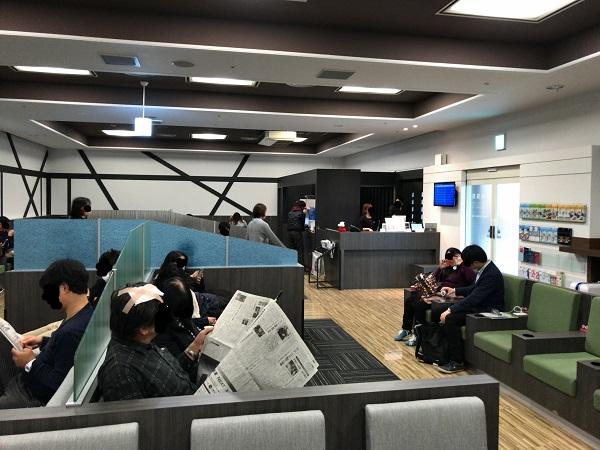IASS Executive Lounge 2の中