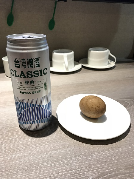 ビールと茶葉蛋
