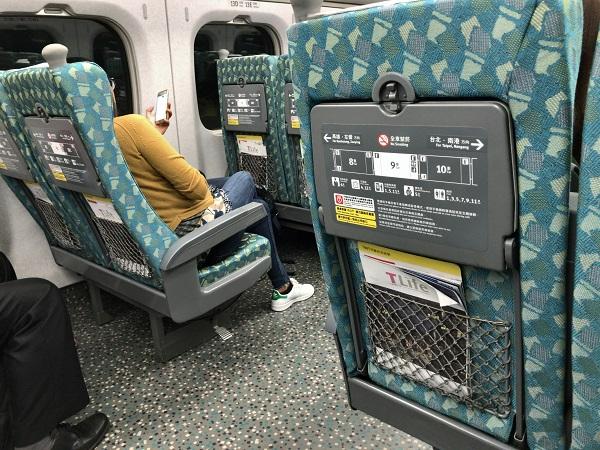 日本の新幹線と同じ
