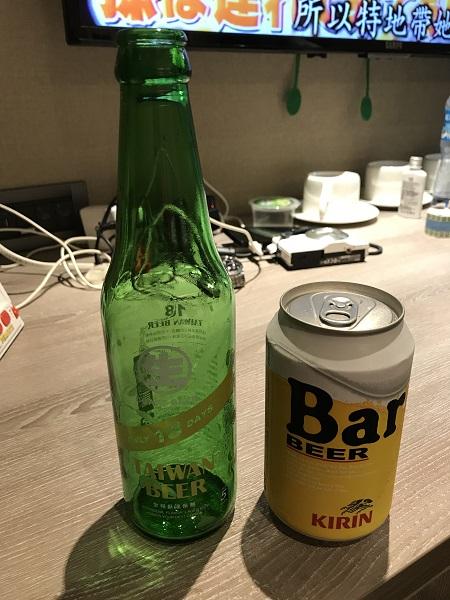 台湾ビールで乾杯