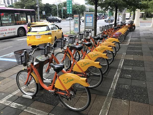 台北のレンタル自転車YouBike
