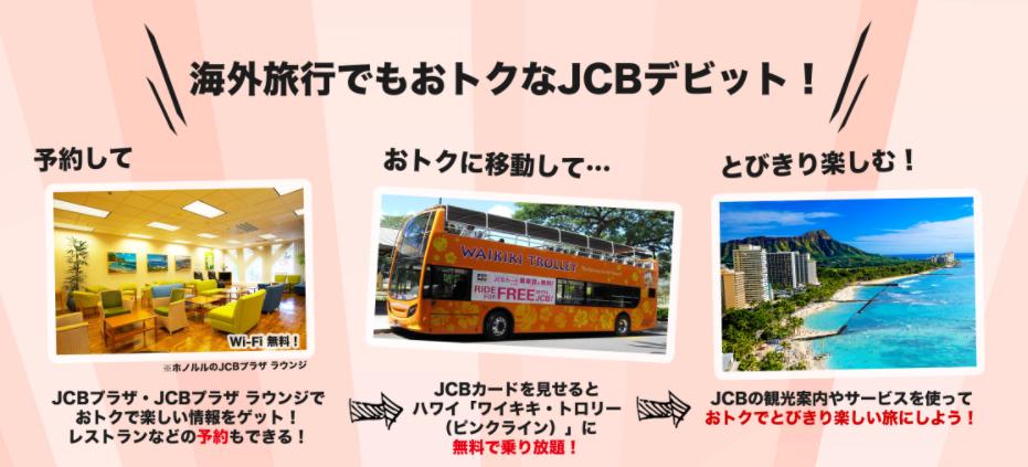 海外旅行で役立つJCBサービス