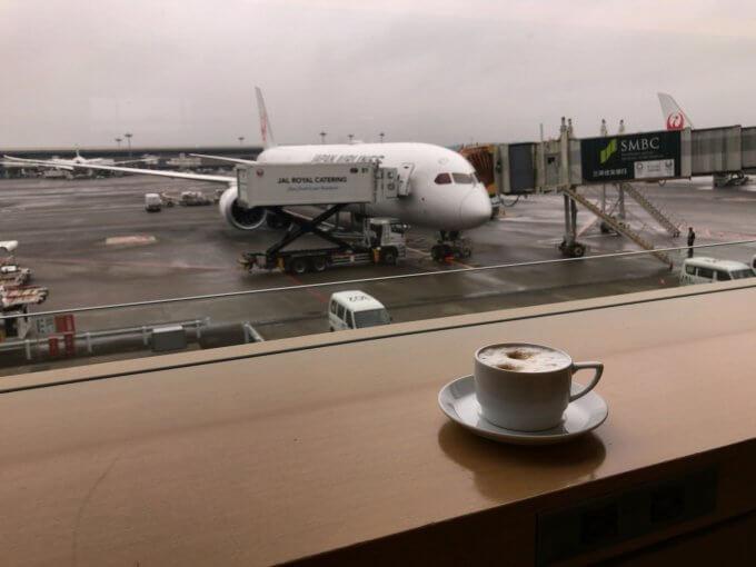 コーヒーと飛行機