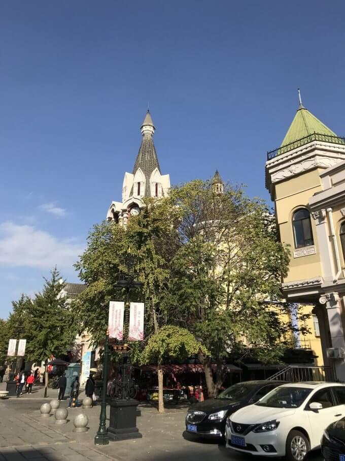 ロシア人街街並み