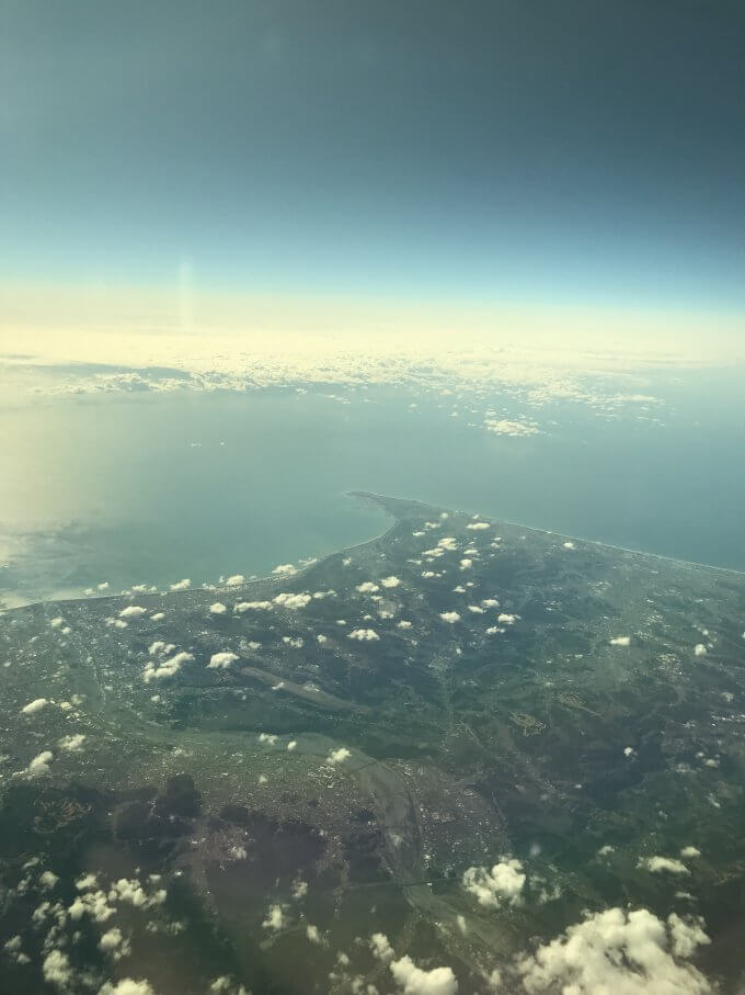 上空からの景色