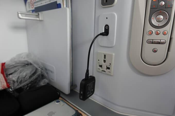 トランスミッター「JPRide JPT1」で飛行機のエンターテイメントをWF-1000XM3に接続する
