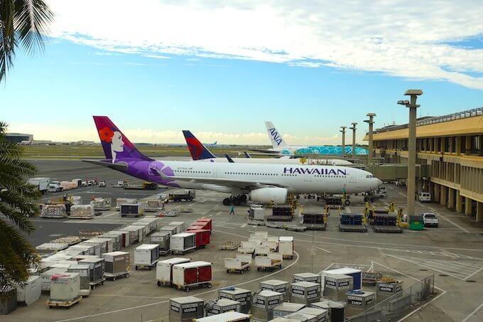 ハワイアン航空のA330