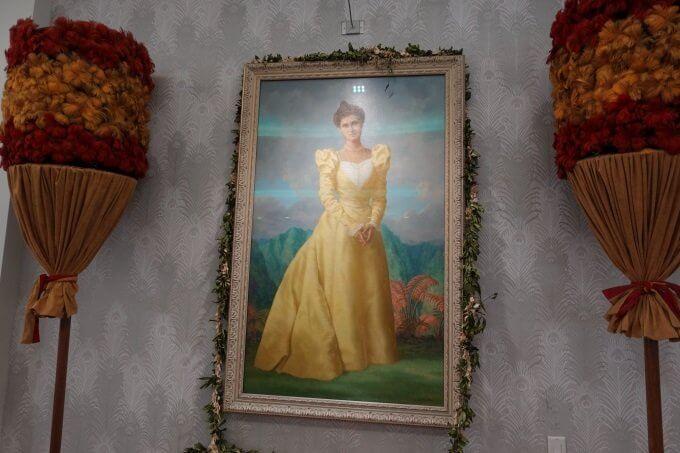シェラトン・プリンセス・カイウラニの肖像画
